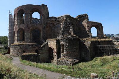 Die Ruinen der Adlerburg