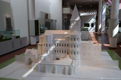 Modell der Porta Nigra