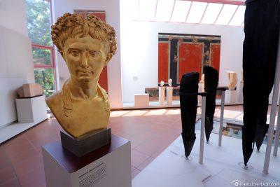 Büste von Julius Caesar