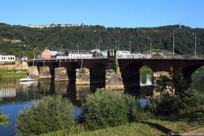 Die Römerbrücke in Trier