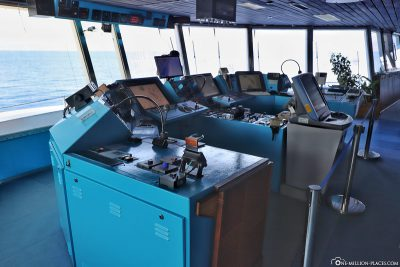 Visit to the command bridge