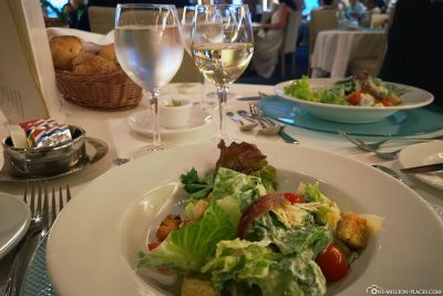 Cesar Salad at the a la carte restaurant