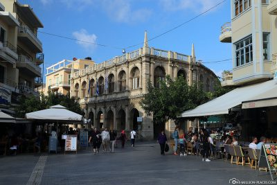 The Venetian Loggia, today's town hall of the city
