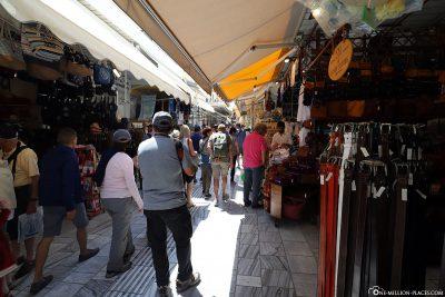 The market in Heraklion