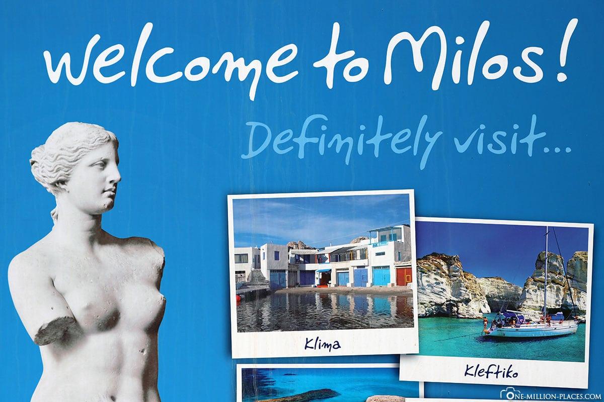 Milos, Kykladen, Griechenland, Sehenswürdigkeiten, Bilder, Reiseblog