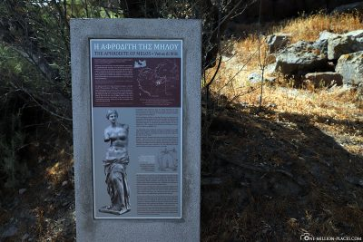 Archaeological site of Venus of Milo