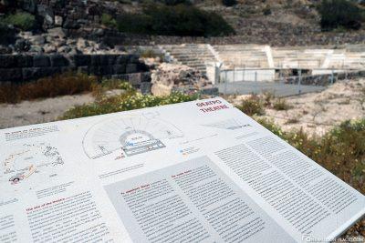 An ancient Roman theatre