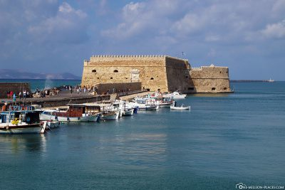 Koules Fortress in the Venetian Port