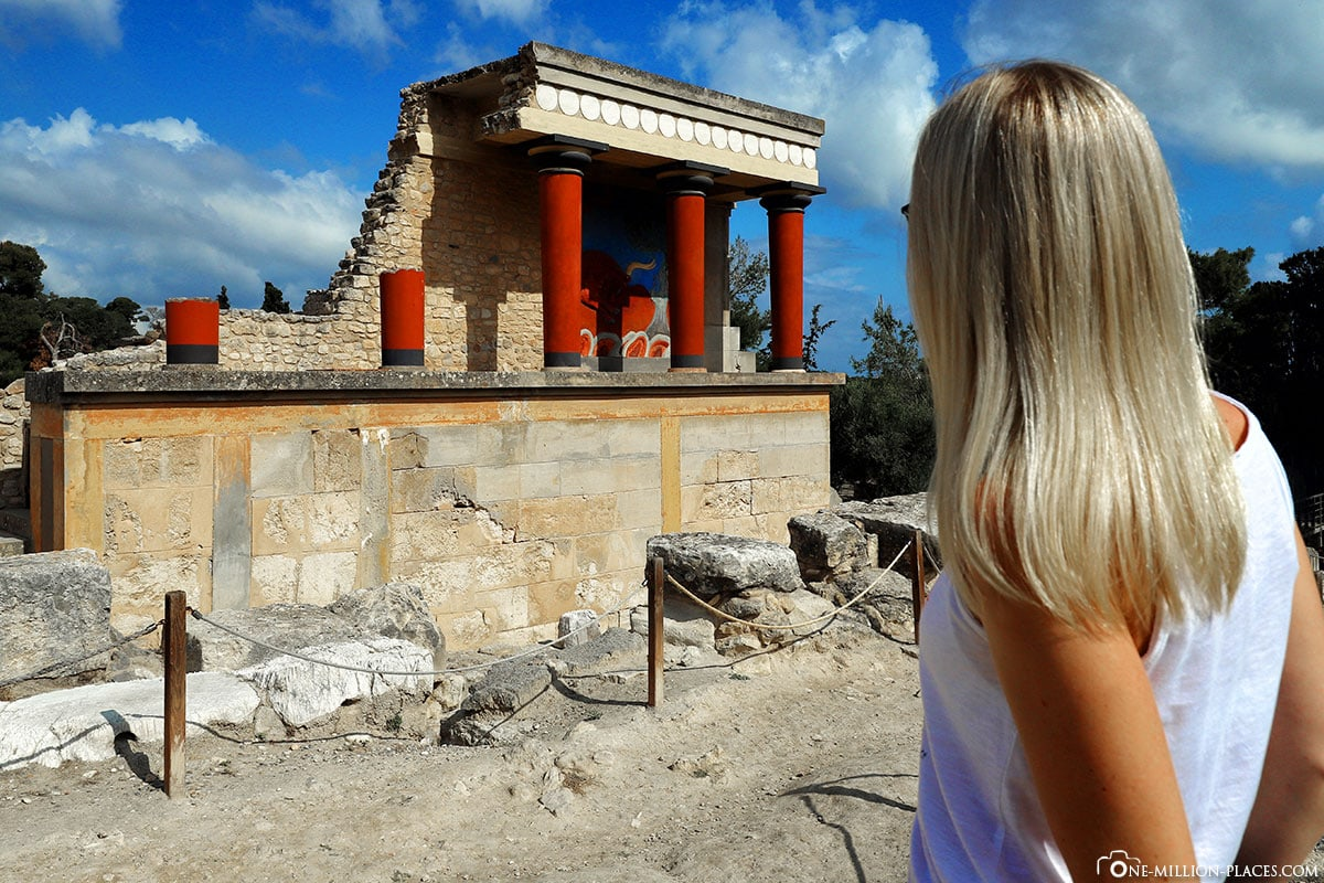 North Entrance, Palace of Knossos, Crete, Minoan Culture, Greek Antiquity, Ancient Culture, Temple Complex, Ruin