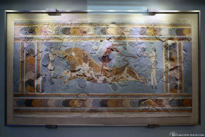 Rekonstruiertes Wandbild