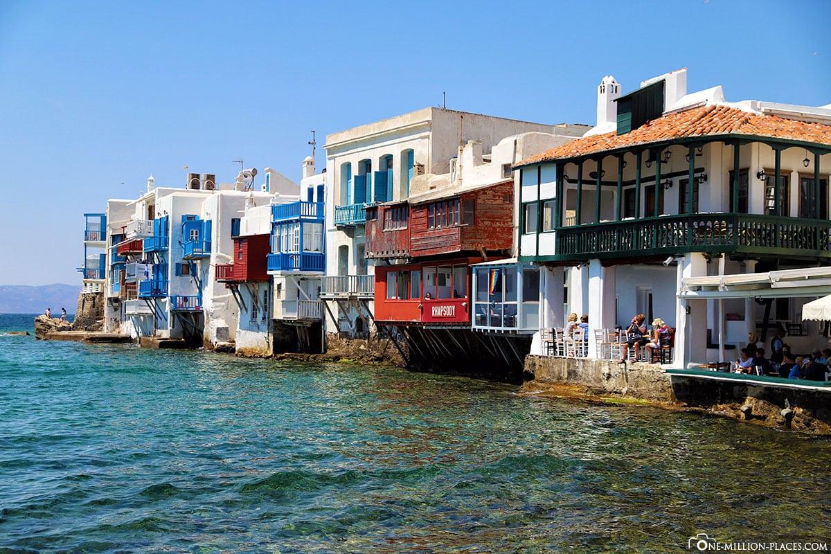 Klein-Venedig, Mykonos, Chora, Stadt, Gassen, Sehenswürdigkeiten, Bilder, Reiseblog