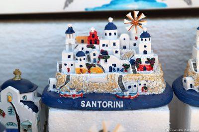 Andenken von Santorini