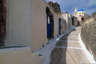 The village of Akrotiri