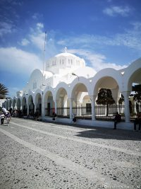 The Orthodox Metropolis Cathedral in Fira