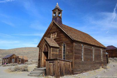 Die Kirche in Bodie