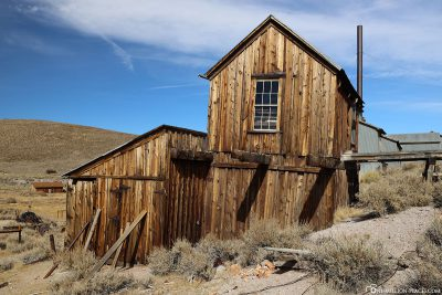 Ein altes Lagerhaus