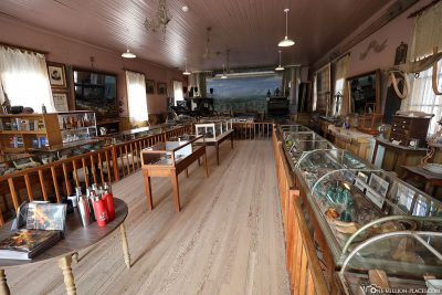 The small museum in Bodie