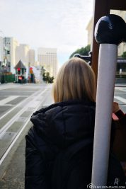 This is the best way to drive with the Cable Car