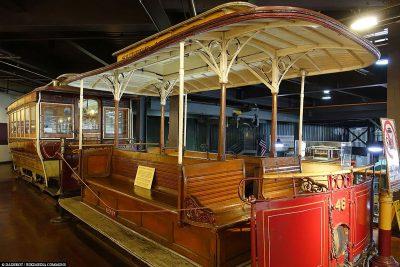 Eine alte Cable Car