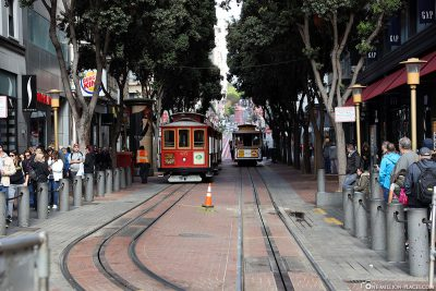 The Cable Car on Powell Street