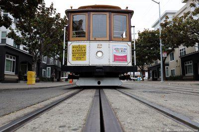 Die Cable Car in San Francisco