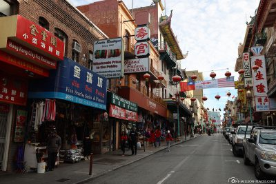 Grant Avenue in Chinatown