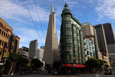 Der Columbus Tower & die Transamerica Pyramid