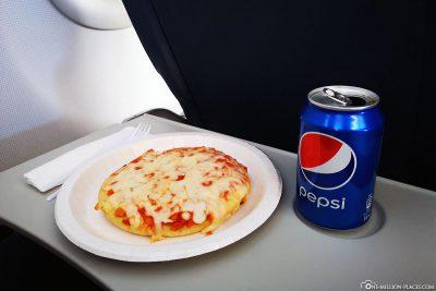 Unser Essen für den Flug nach Island
