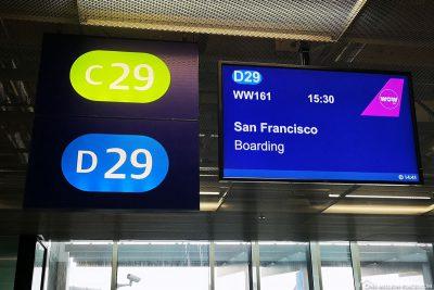 Boarding für San Francisco