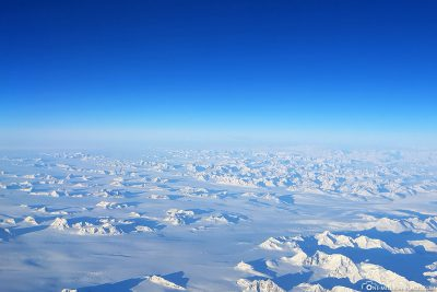 Der Blick aus dem Fenster auf Grönland