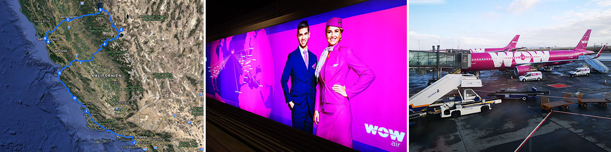 Flug WOW Air USA Headerbild