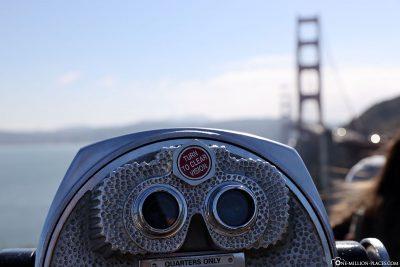 The bridge in view