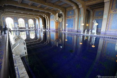 Der Indoor Pool im Hearst Castle