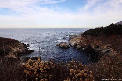 Eine Bucht am Highway 1