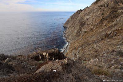 Die Pazifikküste in Kalifornien