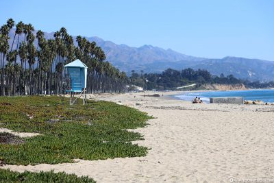 Der Strand in Santa Barbara