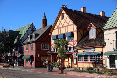 Das dänische Städtchen Solvang in Kalifornien