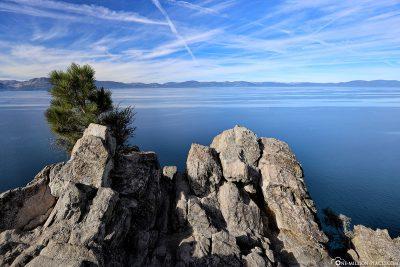 Der Lake Tahoe