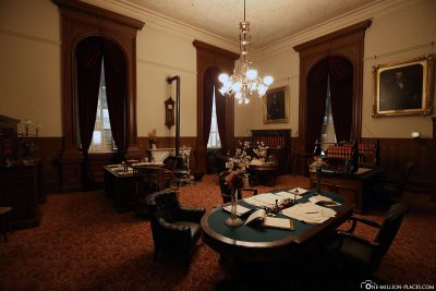 A historically restored office