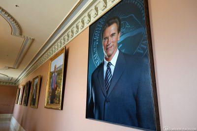 Picture of former Governor Arnold Schwarzenegger