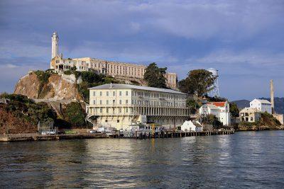 The prison island of Alcatraz in San Francisco
