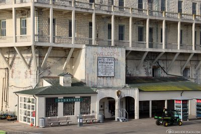 Alcatraz Island Ranger Station