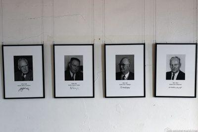 The prison chiefs of Alcatraz