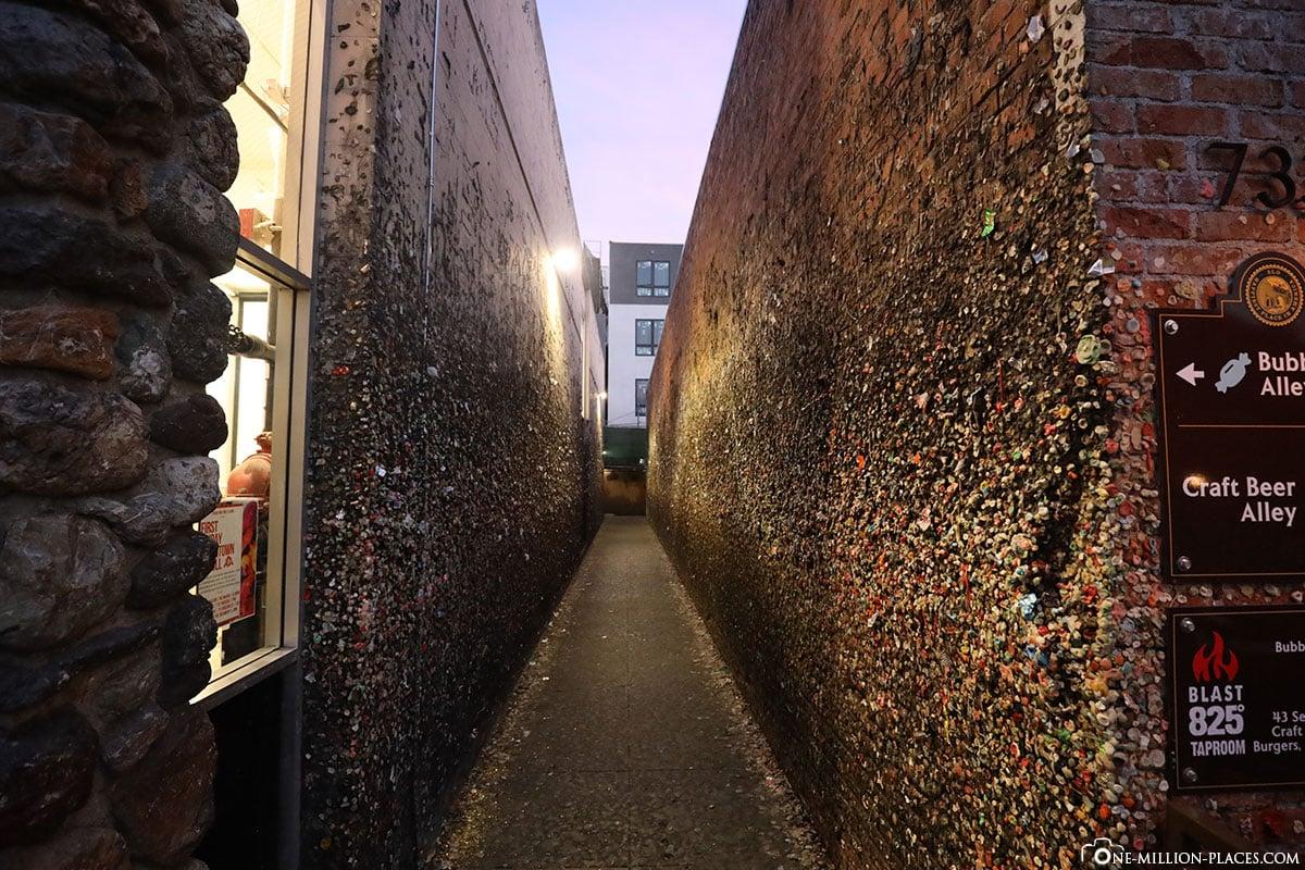 Bubblegum Alley, Kaugummi-Gasse, San Luis Obispo, Kalifornien, USA, Reisebericht