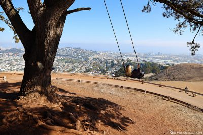 Die Schaukel im Bernal Heights Park