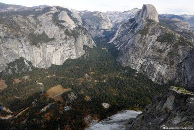 Blick auf das Yosemite Valley