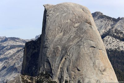 Die Felsformation Half Dome