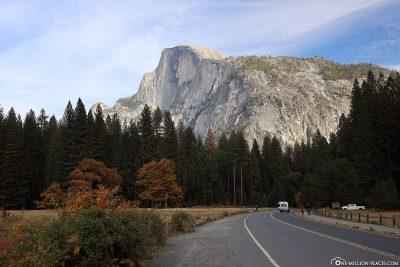 Der Southside Drive im Yosemite Valley