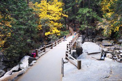 Vernal Fall Brücke