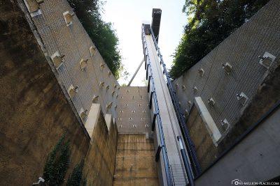 Der Aufzug Pfaffenthal-Oberstadt